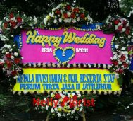 bunga papan wedding WD-03