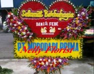 papan happy wedding WE-018