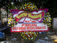 Jual Bunga Papan Wedding Murah (WDG-043)