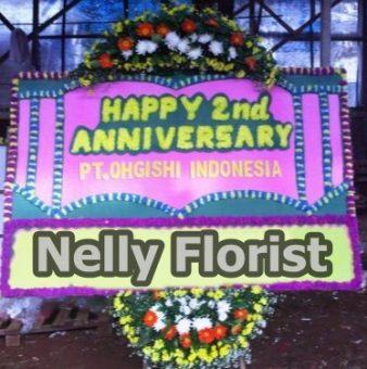 bunga papan anniversary AN-005