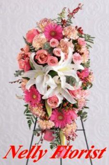 standing flower murah SF-001