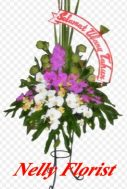 standing flower selamat ultah SF-003