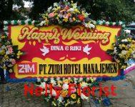 bunga papan pernikahan WD-02