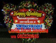 bunga papan happy wedding WE-003