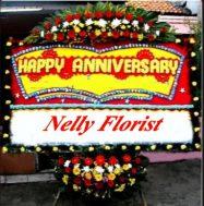 bunga papan anniversary AN-006
