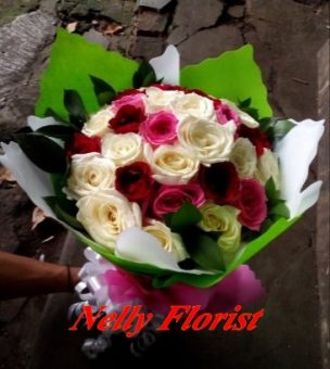 bouquet ultah rose BU-011
