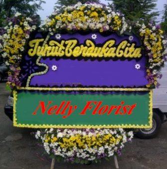 bunga rangkaian duka cita DCT-009