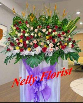 standing flower wedding SF-011