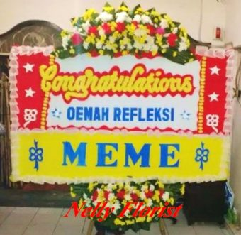 bunga rangkaian congratulation SSS-023