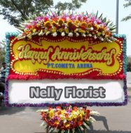 bunga karangan anniversary BP-002