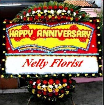 bunga karangan anniversary BPA-014
