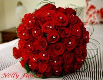 bouquet flower mawar BU-025
