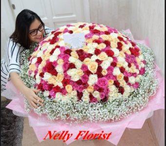 bouquet flower besar BUT-006
