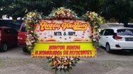 karangan bunga pernikahan bandung